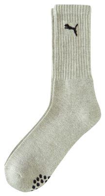 Puma Socks 906189 Sport Crew 3-Pack White Grey d4ab8f79f
