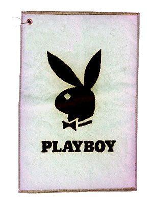 Playboy Handduk Bunny Vit Svart cd8ab260cb113