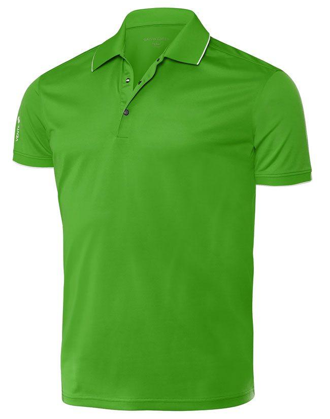Galvin Green Piké Herr Marty Grön.