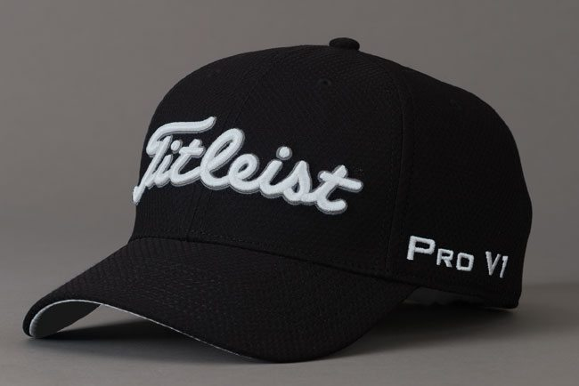 b54edf30 Titleist Cap Dobby Tech TH7 Black