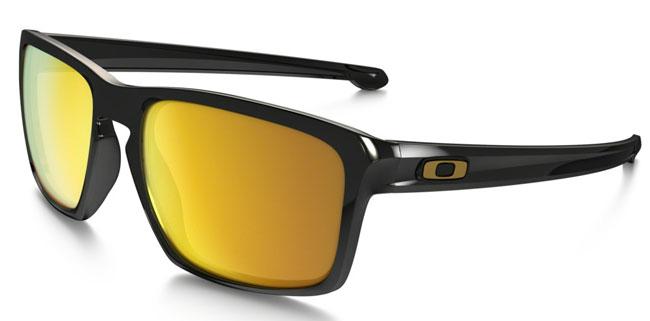 Oakley Solglasögon Sliver Polished Black 24K Iridium  787f21e596439