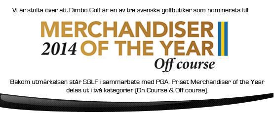 Dimbo Golf nominerade till Merchandiser of the year 2014