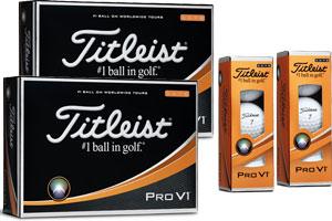 Kampanj Titleist Pro V1 30 för 24